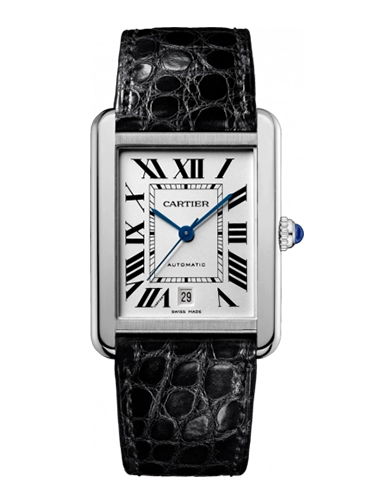 Cartier W5200027 Tank Solo Automatic Stainless Steel Silver 1