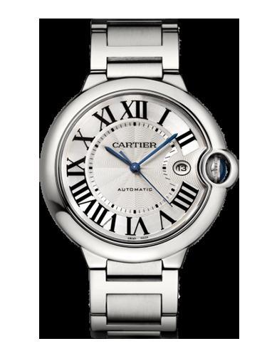 Cartier W69012Z4 Ballon Blue de Cartier 42 Automatic Stainless Steel Silver Bracelet 1