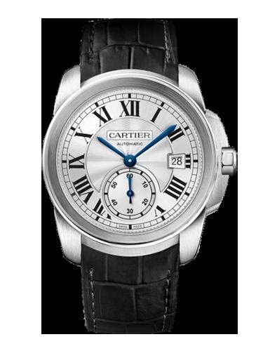 Cartier WSCA0003 Calibre de Cartier 38 Stainless Steel Silver 1