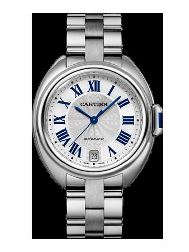 Cartier WSCL0006 Cle de Cartier 35 Stainless Steel Silver Bracelet 1