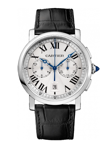 Cartier WSRO0002 Rotonde de Cartier Chronograph Stainless Steel Silver 1