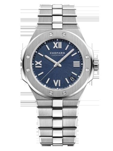 Chopard 298600 3001 Alpine Eagle 41 Stainless Steel Blue 1