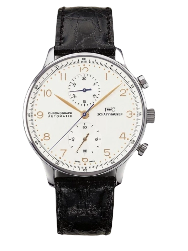 IWC IW3714 01 Portuguese Chrono Automatic Stainless Steel Silver