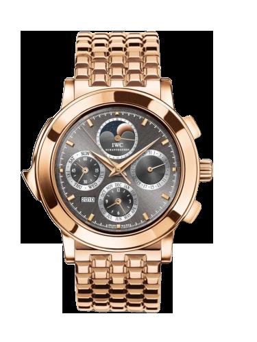 IWC IW9270 45 Grande Complication 9270 Rose Gold Ardoise English Bracelet