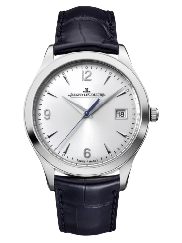 Jaeger LeCoultre 1548420 Master Control Date Stainless Steel Silver Alligator 1