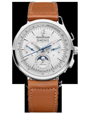 Jaeger LeCoultre 4138420 Master Control Chronograph Calendar Stainless Steel Silver Novonappa 1