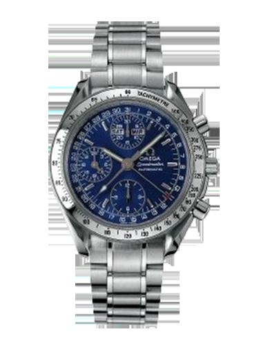 Omega 3523.80.00 Speedmaster Day Date 39 Stainless Steel Blue Bracelet
