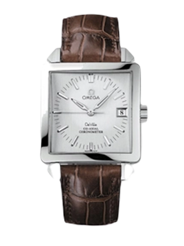 Omega 7802.30.32 De Ville Byzantium Co Axial 33.4 Co Axial Stainless Steel Silver Russia