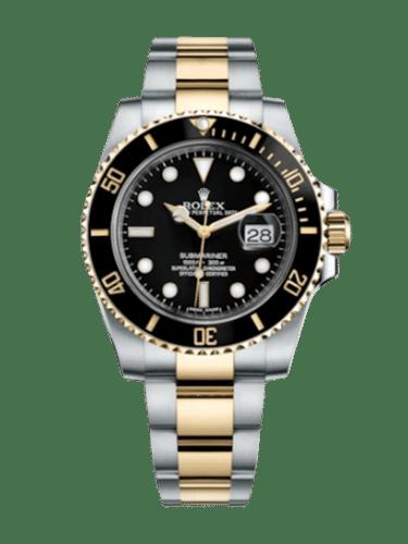 Rolex 116613ln 0001 Submariner Date Rolesor Black Cerachrom
