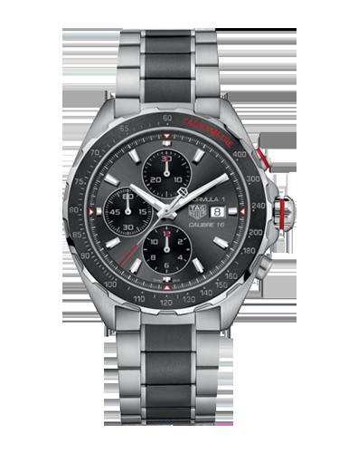 TAG Heuer CAZ2012.BA0970 Formula 1 Calibre 16 44 Stainless Steel Grey Bracelet 1