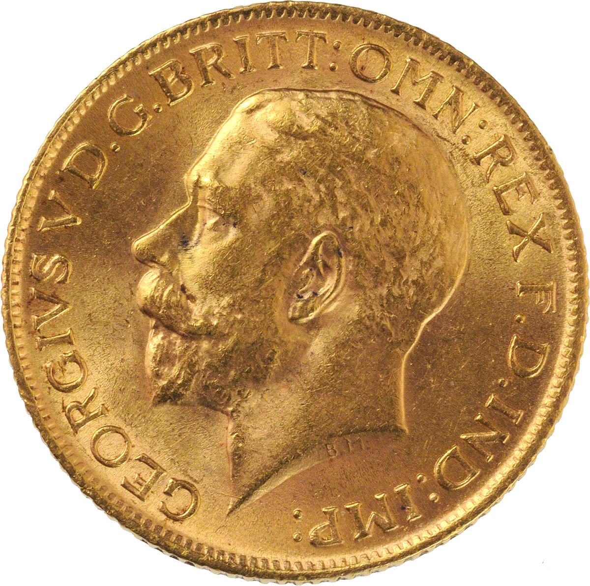 1913 Γεώργιος Ε' (Νομισματοκοπείο Οττάβα, Καναδάς)